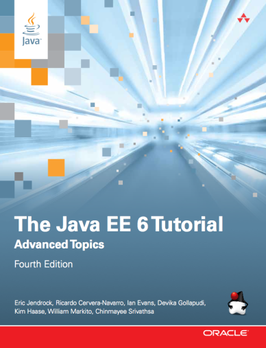The Java EE 6 Tutorial book cover